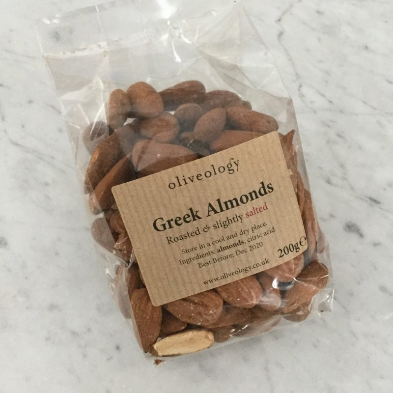 greek almonds